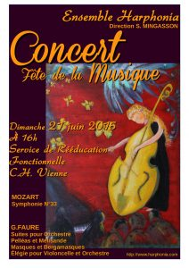 Hopital Affiche concert (2015) A4