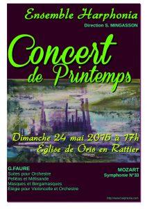Oris Affiche concert (éden) A3