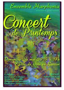 Oris Affiche concert (spring) A3