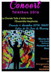 téléthon 2016-Affiche avec orchestre A3