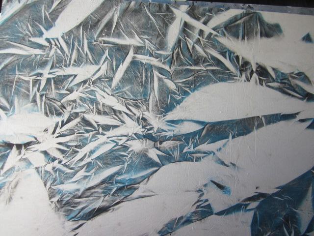 Drap bombé-sans titre-Anne MICHAUD